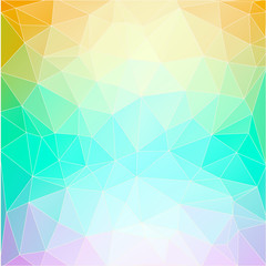 Vector background. Abstract triangle composition. Eps10.