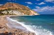 Quadro Fodele beach on Crete island with azure clear water, Greece, Europe