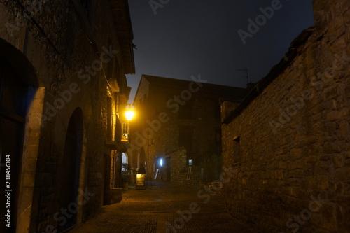 Ainsa. Village of Huesca in Aragon,Spain