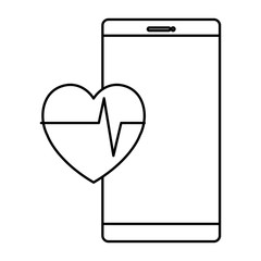 smartphone with fitness app