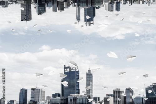 Modern cityscape view.