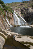 Ezaro Waterfall, Coruna; Galicia