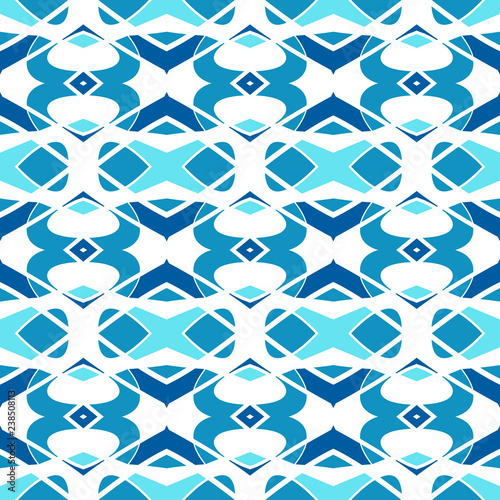 Seamless pattern with arabesques - 238508113