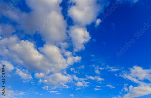 mata magnetyczna Clouds against blue sky as abstract background