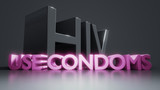 HIV use condoms AIDS protection information - 238517720