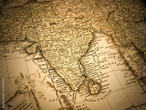 古地図 インド © moonrise