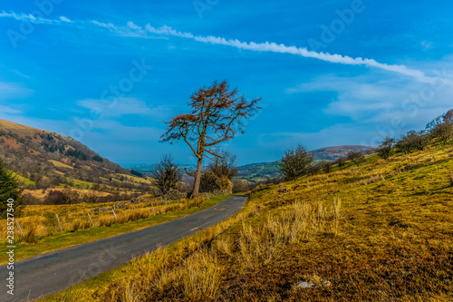 Foto Murales Brecon Beacons National Park, Wales, UK.