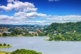 Fototapeta City - Kaszuby-widok z Ręboszewa na Chmielno © Janusz Lipiński
