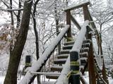 アスレチックの階段