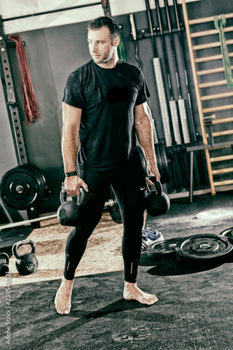 Man in the Gym - 238546521