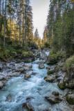 Wildbach in den Alpen I