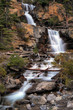 Tangle Creek Falls in Jasper National Park