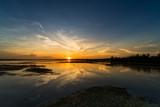 Fototapeta Bedroom - Sonnenuntergang am See © Digitalpress