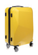 Yellow of Travel bag isolated on white background
