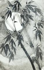 bamboo under the snow © hikolaj2