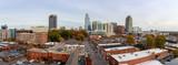 Panorama view of downtown Raleigh Skyline - 238608544