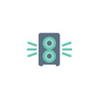 high quality filled speaker icon