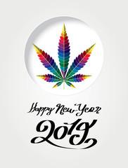 cannabis rainbow happy