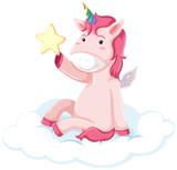 Pretty pink unicorn concept - 238652365