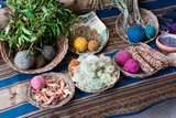 Natural dyes for coloring cloth