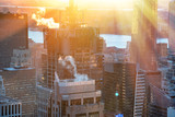 Sunlit skyscrapers of Midtown Manhattan, New York City - 238689781