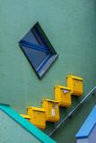 Briefkästen im Treppenaufgang