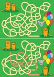 Little cats maze