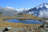 алтайские горы с озером ак-кем
