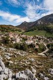 Viewpoint of Sotres, view of the Picos de Europa. Asturias, Spain