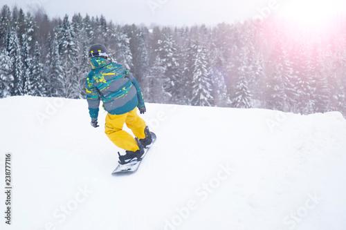 mata magnetyczna Snowboarding Snowboard Snowboarder