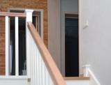 staircase between the floors