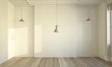 clean minimal empty room - 238873382