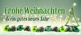 Weihnachtskarte 2019  -  Frohe Weihnachten und ein gutes neues Jahr