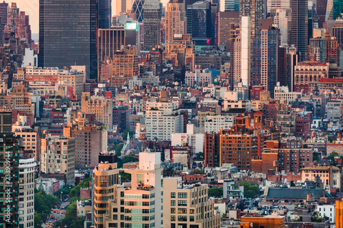 Foto Murales Cityscape of Manhattan