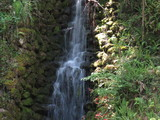 Scenic Waterfall in the Park