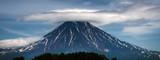 mt fuji in winter, volcano, Kamchatka