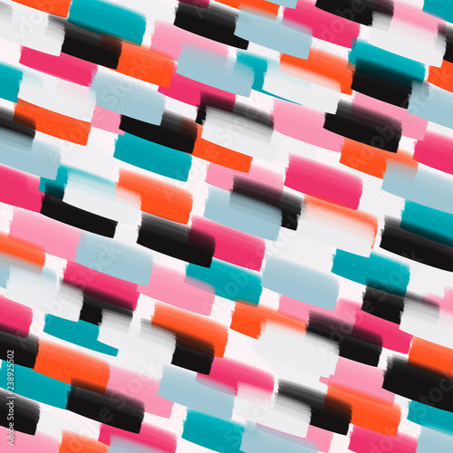 Abstract colored stroke background