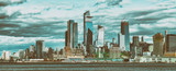 Hudson Yards skyscrapers and Manhattan skyline in New York City as seen from Jersey City - 238933702