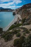 Stunningly beautiful beaches on the island of Milos in Greece - 238948182
