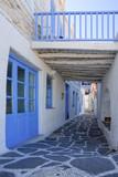 Typical street in Naousa,Paros - 239006101