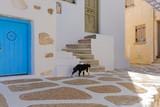 Typical street in Naousa,Paros - 239006127