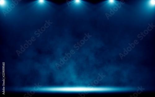 Foto Murales  Spotlight. Scene Illumination.