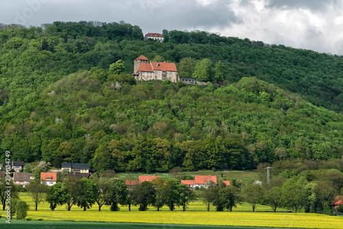 Leinwanddruck Bild Burg Schaumburg