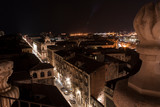 Rooftops of Catania at night