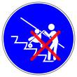 Leinwandbild Motiv ssne11 SafetySignNewEscalator ssne - shas558 SignHealthAndSafety shas - german - Rolltreppe - Frau mit Kinderwagen verboten - english / action sign: escalator - woman with stroller forbidden - g6867