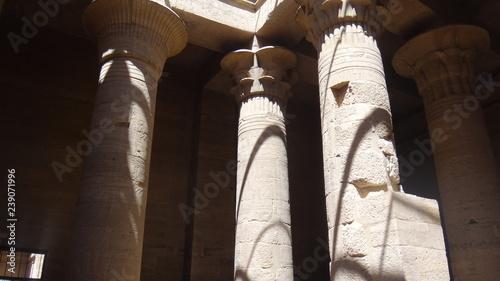 Aswan, Assuan, Świątynia Izydy, Wyspa File