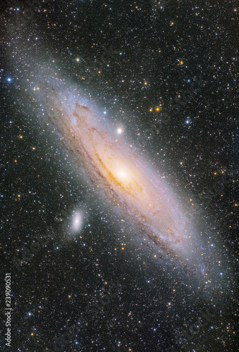 The mellowy Andromeda Galaxy