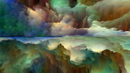 Synergies of Abstract Landscape © agsandrew