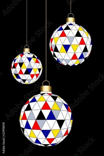 Christmas' balls © Regormark