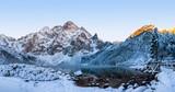 Scenery winter in Tatra mountains. Morskie oko lake